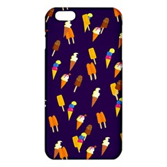 Seamless Cartoon Ice Cream And Lolly Pop Tilable Design Iphone 6 Plus/6s Plus Tpu Case by Nexatart