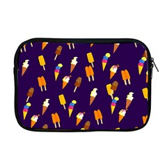 Seamless Cartoon Ice Cream And Lolly Pop Tilable Design Apple Macbook Pro 17  Zipper Case by Nexatart