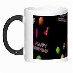 Cartoon Birthday Tilable Design Morph Mugs