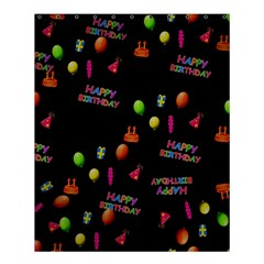 Cartoon Birthday Tilable Design Shower Curtain 60  X 72  (medium)  by Nexatart