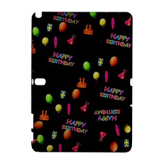 Cartoon Birthday Tilable Design Galaxy Note 1 by Nexatart