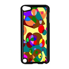 Abstract Digital Circle Computer Graphic Apple Ipod Touch 5 Case (black) by Nexatart