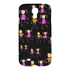 Kids Tile A Fun Cartoon Happy Kids Tiling Pattern Samsung Galaxy S4 I9500/i9505 Hardshell Case