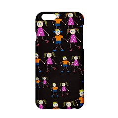Kids Tile A Fun Cartoon Happy Kids Tiling Pattern Apple Iphone 6/6s Hardshell Case by Nexatart