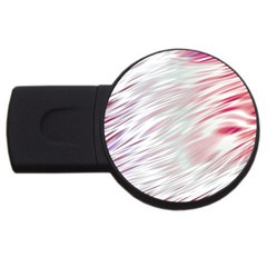 Fluorescent Flames Background With Special Light Effects Usb Flash Drive Round (4 Gb)