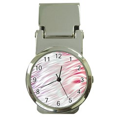 Fluorescent Flames Background With Special Light Effects Money Clip Watches by Nexatart