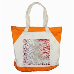 Fluorescent Flames Background With Special Light Effects Accent Tote Bag