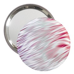 Fluorescent Flames Background With Special Light Effects 3  Handbag Mirrors