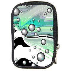 Small And Big Bubbles Compact Camera Cases by Nexatart