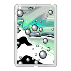 Small And Big Bubbles Apple Ipad Mini Case (white) by Nexatart
