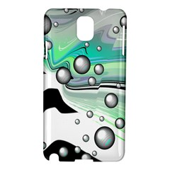 Small And Big Bubbles Samsung Galaxy Note 3 N9005 Hardshell Case by Nexatart