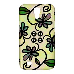 Completely Seamless Tileable Doodle Flower Art Samsung Galaxy Mega 6 3  I9200 Hardshell Case by Nexatart