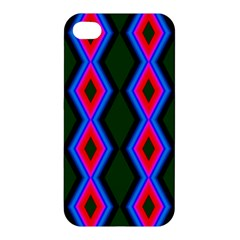 Quadrate Repetition Abstract Pattern Apple Iphone 4/4s Premium Hardshell Case by Nexatart