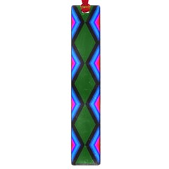 Quadrate Repetition Abstract Pattern Large Book Marks by Nexatart