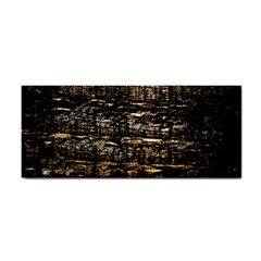 Wood Texture Dark Background Pattern Cosmetic Storage Cases