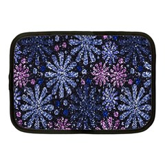 Pixel Pattern Colorful And Glittering Pixelated Netbook Case (medium)