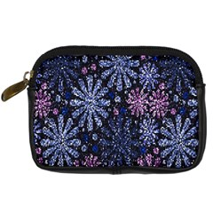 Pixel Pattern Colorful And Glittering Pixelated Digital Camera Cases by Nexatart