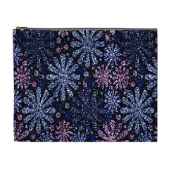 Pixel Pattern Colorful And Glittering Pixelated Cosmetic Bag (xl)