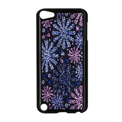 Pixel Pattern Colorful And Glittering Pixelated Apple Ipod Touch 5 Case (black) by Nexatart