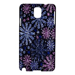 Pixel Pattern Colorful And Glittering Pixelated Samsung Galaxy Note 3 N9005 Hardshell Case by Nexatart