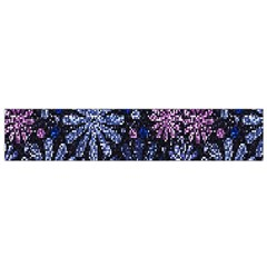 Pixel Pattern Colorful And Glittering Pixelated Flano Scarf (small) by Nexatart
