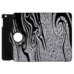 Abstract Swirling Pattern Background Wallpaper Apple Ipad Mini Flip 360 Case by Nexatart