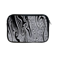 Abstract Swirling Pattern Background Wallpaper Apple Ipad Mini Zipper Cases by Nexatart