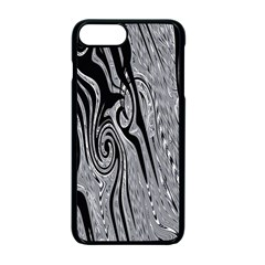 Abstract Swirling Pattern Background Wallpaper Apple Iphone 7 Plus Seamless Case (black)