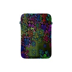 Grunge Rose Background Pattern Apple Ipad Mini Protective Soft Cases by Nexatart