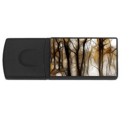 Fall Forest Artistic Background Usb Flash Drive Rectangular (4 Gb)