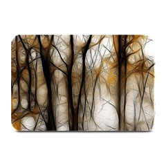 Fall Forest Artistic Background Plate Mats by Nexatart