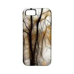 Fall Forest Artistic Background Apple Iphone 5 Classic Hardshell Case (pc+silicone) by Nexatart