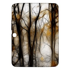 Fall Forest Artistic Background Samsung Galaxy Tab 3 (10 1 ) P5200 Hardshell Case  by Nexatart