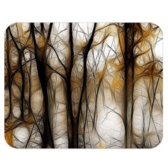 Fall Forest Artistic Background Double Sided Flano Blanket (medium)  by Nexatart