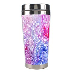 Glitter Pattern Background Stainless Steel Travel Tumblers