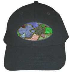 Background With Color Kindergarten Tiles Black Cap by Nexatart
