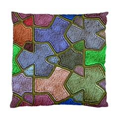 Background With Color Kindergarten Tiles Standard Cushion Case (two Sides)