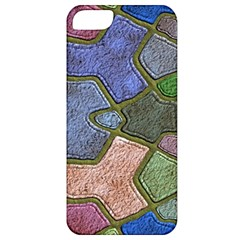 Background With Color Kindergarten Tiles Apple Iphone 5 Classic Hardshell Case