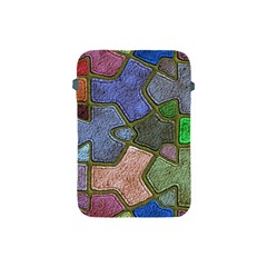 Background With Color Kindergarten Tiles Apple Ipad Mini Protective Soft Cases