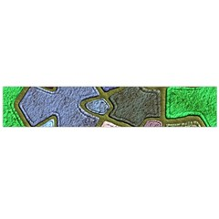 Background With Color Kindergarten Tiles Flano Scarf (large)
