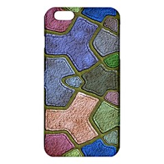 Background With Color Kindergarten Tiles Iphone 6 Plus/6s Plus Tpu Case by Nexatart