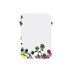 Floral Border Cartoon Flower Doodle Apple Ipad Mini Protective Soft Cases by Nexatart
