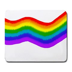 Watercolour Rainbow Colours Large Mousepads by Nexatart