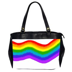 Watercolour Rainbow Colours Office Handbags (2 Sides)  by Nexatart