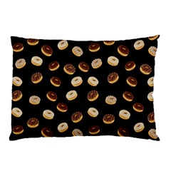 Donuts Pattern Pillow Case by Valentinaart