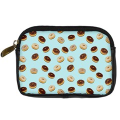 Donuts Pattern Digital Camera Cases by Valentinaart