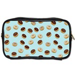 Donuts pattern Toiletries Bags Front