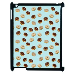 Donuts Pattern Apple Ipad 2 Case (black) by Valentinaart