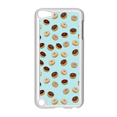 Donuts Pattern Apple Ipod Touch 5 Case (white) by Valentinaart