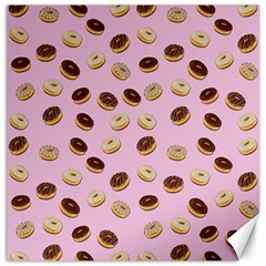 Donuts Pattern Canvas 20  X 20